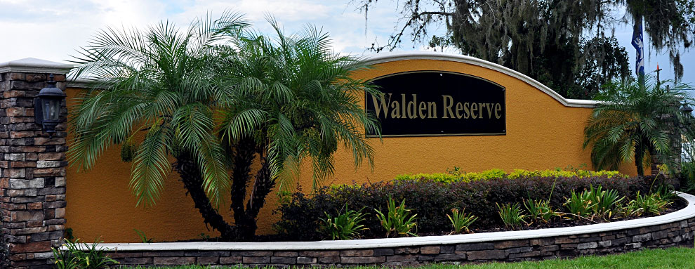 Walden Reserve Entrance